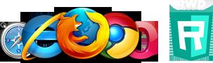 Navegadores de internet - diseño web adaptable